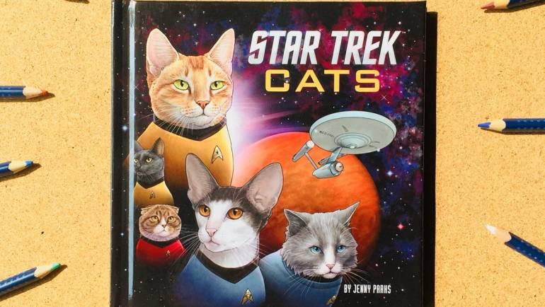 나는 스타트렉 고양이로소이다!